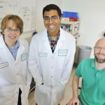 Anton Relin, Rohan Challa, and Dr. Schummers
